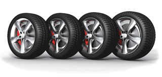 group of tyres